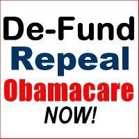 Defund and Repeal Obamcare Now!